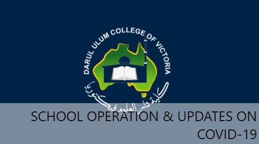 School Operation Guide and Updates on Covid-19