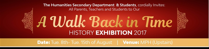 2017 HISTORY WEEK EXHIBITION